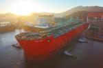 삼성중공업은 로열더치셸社로부터 수주한 세계 최초의 부유식 LNG 생산설비인 프리루드(Prelude) FLNG의 진수 작업을 성공적으로 마쳤다고 3일 밝혔다.