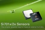 실리콘랩스는 새로운 상대 습도 (RH) 및 온도 센서 제품군을 출시했다.