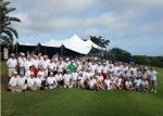 남아공 더반에서 열린 2013 볼보 월드 골프 챌린지 월드 파이널 참가자 단체