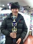 이인녕 학생(19세)이 뱅가드 월드그랑프리에 참가해 우승을 했다.