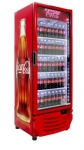 One of the HFC-free cooler models Coca-Cola is using for new equipment placements globally.