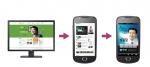 스마트폰의 증가로 웹 전용 홈페이지에서 스마트폰 전용 홈페이지로 변화하고 있다.