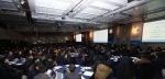 한국EMC 김경진 대표가 6일 삼성동 코엑스 인터컨티넨탈 호텔에서 열린 EMC 비즈니스 파트너 데이 2014 행사에서 EMC 비즈니스 파트너 프로그램 및 사업 전략을 발표하고 있다