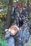 지난해 소나무 재선충 피해목 제거 당시 모습이다.