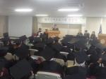 해피실버 프로그램 졸업식이 지난 17일 한동대학교 효암채플 별관에서 130여명의 어르신들이 참석한 가운데 열렸다.