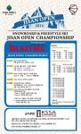 2014 지산 오픈 챔피언십 대회 포스터