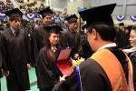 호원대학교(총장 강희성)가 제28회 2013학년도 전기 학위수여식을 호원문화체육관에서 개최했다.