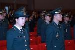 군산대 155학군단의 2014년도 임관・승급・입단식이 개최됐다.
