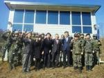 군산대 학군단이 2014 동계입영훈련에서 최우수학군단으로 선정됐다.