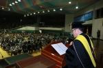 군산대학교가 2014년도 입학식을 개최했다.