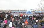 포항시는 제95주년 3.1절 기념식과 함께 포항운하 준공식과 포항시의 모태였던 영일군의 출범 100주년을 기념하는 축하공연과 수상퍼레이드를 포항운하 일원에서 거행했다.