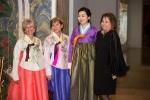 한복의 명장 김혜순씨가 지난 2일 필라델피아 미술관에서 조선 왕실 패션쇼를 인기리에개최했다.
