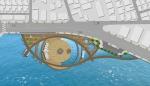 포항시 해양공원 전체조감도이다.