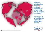 Pradaxa(R) - Now approved in over 100 countries worldwide for people living with an irregular heart beat. Providing best brain protection against their biggest fear: a stroke