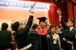 군산대학교는 교직원, 학생 등 600여명이 참석한 가운데 군산대학교 제7대 총장 취임식을 거행했다.