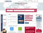 한국콤파스가 Global B2B 기업정보 검색포털사이트를 구축했다.