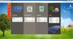 서울유스호스텔 태양광 발전장치 시스템을 관리컴퓨터에서 모니터링하고 있다.