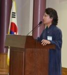 한한국(조선대 정책대학원 초빙교수, 한국기록원장) 작가가 20일 오후 국회의원회관에서 열린 '나눔CEO최고위과정'에서 나눔명사로 선정되어 20년의 나눔에 대한 특강을 펼쳤다.