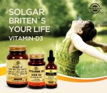 솔가 비타민D3 시리즈 에스터C 1000mg 위드 비타민D3, D3 600IU, 리퀴드 비타민D3 5000IU