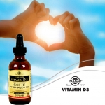 솔가비타민이 액상 형태의 고함향 비타민D 5000IU를 출시했다.