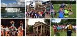 작년 2013 여름 국제 캠프에 참가한 한국 학생들의 모습이다.