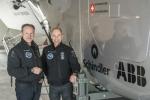 ABB가 2015년 태양광 비행기로 세계 일주에 도전할 예정인 솔라 임펄스(Solar Impulse) 프로젝트를 지원한다고 발표했다.