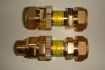Automatic proportional control valve