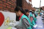 하나금융그룹 임직원 및 가족 120명이 홍은1동을 행복한 호박마을로 바꾸는 프로젝트를 진행했다.