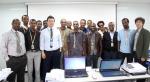 이글루시큐리티가 에티오피아 정부 관계자 대상 보안관제 운영교육을 실시하고 있다.