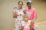 P&G CSDW Program presented the 7 billionth liter of clean drinking water to Claudia and Gilberto Pereira Barbosa and their four children near the community of Araçuai in the Jequitinhonha Valley region with local partner ChildFund. Living in the dry,...