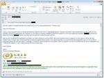 지란지교시큐리티가 유사도메인 등록 관련 협박 피싱메일 이미지를 공개했다.
