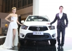 쌍용차가 베이징모터쇼를 통해 중국시장을 공략한다.