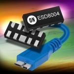 온세미컨덕터가 가장 진보된 인터페이스 기능을 지닌 정전기 (ESD) 억제 소자 5종을 출시했다.