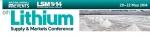리튬 공급 및 시장 컨퍼런스가 5월 20일부터 22일까지 캐나다 몬트리올에서 개최된다.