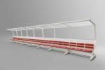 2014 FIFA 월드컵 선수 벤치 공식 라이센스 유리지붕