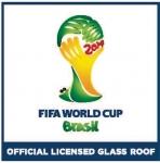 AGC, 2014 FIFA 브라질 월드컵 경기장 내 선수용 벤치 유리지붕 공개