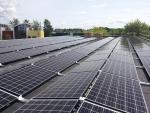 한화큐셀이 덴마크 코펜하겐 인근 은퇴자 아파트에 설치한 덴마크 최대 규모인 345kW 지붕형(Roof-Top) 태양광 발전소이다.
