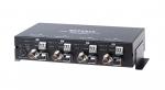 웹게이트는 HD-CCTV의 One Cable Solution을 지원하는  4채널 광 트랜스미터를 출시했다.
