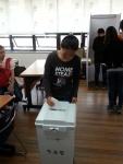 군산시다문화가족지원센터가 결혼이주여성을 대상으로 유권자교육 및 선거체험을 실시했다.