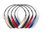 LG전자가 컬러 입은 웨어러블 블루투스 헤드셋을 출시했다.