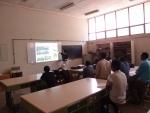 KERI 류홍제 박사가  에티오피아서 강의를 하고 있다.