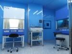 이데아성형외과 줄기세포 무균연구소 시스템. 안전한 조직채취와 세포 시술을 위해 무균 연구소와 무균 수술실, QC시스템을 갖췄다.