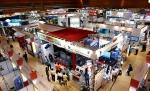 2013년 국제 방송·음향·조명기기 전시회의 모습이다.