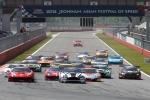 국내에서 처음으로 개최된 GT 아시아 경기 스타트 장면