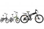 테일지코리아가 전기자전거를 출시(왼쪽부터 T5, T6, T9)한다.