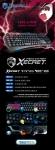 로이체가 게이밍 키보드 XECRET XG-9600KL HELLIOS의 체험단 이벤트를 진행한다.