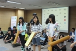 서울시 하이서울유스호스텔에서 한·중 청소년들이 뜻깊은 교류 행사를 가졌다.