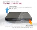 상품의 기능을 강조한 삼성 외장 ODD 상세페이지이다.