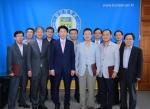 군산대학교가 2013년도 주요업무 추진실적 평가 우수부서에 대한 시상식을 개최했다.