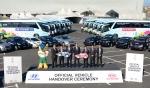 현대•기아차가 대회 공식 차량을 지원해 선수 및 대회 관계자들에게 최상의 편의를 제공한다.